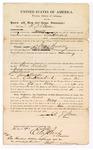 1870 April 25: Bond for appearance, R.J. Baker, in U.S. v. Jesse Woodell, for larceny; note states
