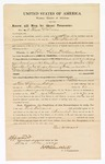 1870 May 16: Bond for appearance, Levi Williams, witness, in U.S. v. William Williams and Green Jackson, indicted for larceny; James Churchill, commissioner