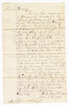 1870 October 22: Bond for appearance, U.S. v. Alexander J. Woosley, for selling or giving spirituous liquors to Indians in Benton County; William Martindale and Isaac Lingo, sureties; Isaac Cook, J.P.