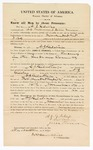 1870 October 22: Bond for appearance, U.S. v. A. J. Gilstrap, for larceny in the Indian country; D. C. Williams and Jesse Turner, sureties; James Churchill, commissioner