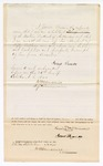 1870 October 26: Bond for appearance, U.S. v. Lewis Wilkinson, for introducing spirituous liquors into the Indian country; James Duncan, surety; James Churchill, commissioner