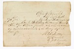 1871 January 11: Voucher of payment due to Sam W. Fooy; by Office, U.S. Marshal, Van Buren, Arkansas; W. H. Britton, marshal, by J. Donnelly, deputy; pay to J. S. Gage, receipted to J. Haymaker
