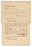 1872 March 24: Bond for appearance, in U.S. v. Isaac S. Ellis, assault with intent to kill and having waived examination; Edward Bowman, surety; James Churchill, commissioner
