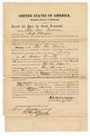 1871 June 17: Bond for appearance, Peter Van Norman in U.S. v. Peter Van Norman, for larceny in the Indian country; surety A.N. Hargrove; Edward Brooks, commissioner