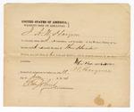 1871 June 17: Statement for bond by A. N. Hargrove in U.S. v. Peter Van Norman; Edward Brooks, commissioner