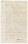 1871 June 17: Appointment of John C. Pritchard as Deputy clerk, U.S. District Court, Fort Smith; James Churchill, clerk
