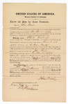 1871 July 8: Bond for witness, John Priest, U.S. v. Charles Washington for assault with intent to kill in the Indian country; Samuel Smith, surety; Edward Brooks, commissioner