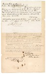1871 September 27: Bond for appearance of Ut-Tub-Bee, in  U.S. v. Ut-Tub-Bee for larceny; Penson Harkins, J. H. Willis, and Eden Tucker, sureties; Edward Brooks, commissioner; also signed by John Martin and M. L. West