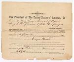 1871 November 1: Subpoena for witnesses, James H. Mersham, Crocket Bolin, Hugh McGuire, and John G. Springer, in U.S. v. George Hunt, for violation of internal revenue law; served by Logan H. Roots, marshal