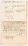 1871 November 17: Bond for appearance, U.S. v. William Froham, assault with intent to kill in Indian country; Paul R. Krone, surety; Edward Brooks, commissioner