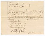 1871 November 18: Bond for appearance, J. Youat in U.S. v. J. Youat, for assault with intent to kill in the Indian country; W. T. Hercules, surety; Edward Brooks, commissioner