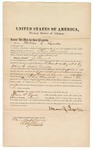 1871 November 18: Bond for appearance, Mason S. Lyndes, in U.S. v. J. Youat, for assault with intent to kill in the Indian country; Edward Brooks, commissioner
