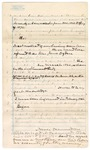 1871: Questions for James O. Churchill, and his answers, regarding Ogden title case from 1866-1871; Includes names of John and Jane Ogden; Turner and Turner, Attorneys at Law