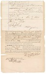 1872 January 3: Bond for appearance, U.S. v. Ground Hog Eagle, assault with intent to kill; includes oath of surety and mark of Anne Sebalt; Edward J. Brooks, commissioner.