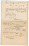1872 January 16: Bond for defendant, U.S. v. Richard Williamson, larceny; Felix McIntosh, surety; Edward J. Brooks, commissioner