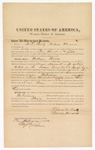 1872 February 1: Bond for witnesses, William T. Beaty and William Norwood, in U.S. v. William Walker, assault with intent to kill in Indian country [and introducing spurious liquor]; Edward Brooks, commissioner