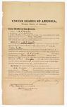 1872 March 5: Bond for defendant, U.S. v. D.L. Winston, endeavoring to impede public justice; J.W. Donnelly, surety; James Churchill, commissioner