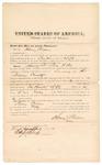 1872 April 23: Bond for witness, Henry Pickens, in U.S. v. Sam Willis, larceny in Indian country; Edward Brooks, commissioner
