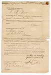 1872 May 23: Bond, U.S. v. Nathan Woosley, et. Al, larceny in Indian country; includes signatures of Nathan M. Woosley, James Woosley, B. Baer, and P.W. Cunningham; J.C. Pritchard, commissioner