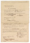 1872 June 11: Bond, day-to-day, U.S. v. Ellis Forman, murder; includes marks by Ellis Forman, William Forman, Samuel Gunter, and H.H. Hickey; James Churchill, commissioner