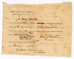 1872 June 15: Bond signed by John Blythe; James Churchill, commissioner