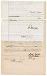 1872 July 18: Bond, U.S. v. Jack Walker, intimidating a witness; Tandy Walker, surety; also signed T.E. Lacy; James Churchill, commissioner
