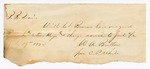 1872 July 19: Note to P.R. Davis