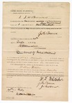 1872 July 20: U.S. v. William Whitaker, assault with intent to kill; J.H. Bowen and John Hunt, sureties; James Churchill commissioner
