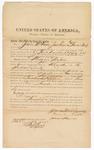 1872 August 13: Bond for witnesses, U.S. v. Maggie Nilsin, murder in Indian country; James McNames, Frank North, and James Shannon, sureties; Edward Brooks, commissioner