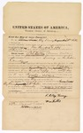 1872 August 23: Bond for witnesses, Clay Freney and William Hollis; U.S. v. James Walker, larceny; James Churchill, commissioner