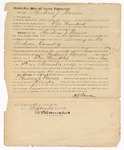 1872 September: Bond, U.S. v. Andrew Warner, larceny in Indian country; James Churchill, commissioner