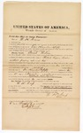 1872 October 6: Bond for witness, W.H. Cross, in U.S. v. Sarah Wilson, retail liquor dealer without paying special tax; Edward Brooks, commissioner