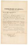 1872 October 10: Bond for witness, Jesse Pratt, in U.S. v. Ham Warfield and Ralf Edmonds, murder in Indian country; Edward Brooks, commissioner