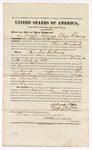 1872 November 2: Bond for witness, U.S. v. Reuben Williams, assault with intent to kill; Melerader Charves, Eliza Charves, and Oliver P. Robinson, sureties; James Churchill, commissioner