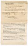 1872 November 16: Bond for defendant, U.S. v. Rueben Washington, assault with intent to kill; Edmund Washington, and Simon Facton, sureties; James Churchill, commissioner