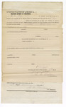 1873 January 17: Bond, U.S. v. John Warford, introducing and selling spirituous liquors in Indian country; Miles C. Jones, surety; also O.M. Sipe; Edson S. Bastin, commissioner