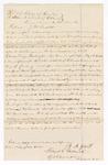 1873 May 22: Witness acknowledgement by J.M. Gossett for U.S. v. George Washington, larceny; Floyd C. Babcock, commissioner