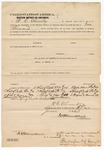 1873 June 23: Bond for defendant, U.S. v. Mike Ghormley, assault with intent to kill; Edward Brooks, commissioner