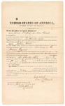 1873 July 1: Bond for witnesses, U.S. v. Joshua Wade, larceny in the Indian country; James Dolenerty and Daniel Barnett, sureties; Edward Brooks, commissioner
