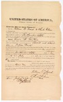 1873 July 1: Bond for witnesses, U.S. v. Thomas B. Gylliams, assault with intent to kill in Indian country; William O. French and Charles Glenn, sureties; Edward Brooks, commissioner