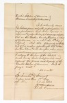 1873 May 10: Information filed by J.H. Smith regarding U.S. v. Sam Lareux, for murder of George Elum and his daughter; signed James Churchill
