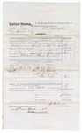 1873 September 30-1875 April 26: Services performed by posse W.E. Brown, Thomas French, and W.R. Walker deputy Marshal pertaining to United States v. John Grass, One Smoker, and Wade Lukey; signed F.C. Babcock and James Churchill, commissioners