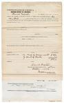 1873 October 4: Bond for defendant, U.S. v. James Willis, introducing spirituous liquors into Indian country, Daniel Webster, surety; James Churchill, commissioner