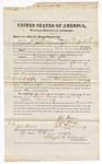 1873 October 7: Bond for witnesses, J.S. Moore, George Cony, and John Downing, for U.S. v. James Wright, larceny, James Cook, surety; Floyd Babcock, commissioner, including justification of surety