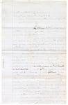 1874 January 23: Correspondence between John N. Sarber, Marshal of U.S. Western District of Arkansas, regarding the arrest and detainment of William C. McCaw and James Churchill, clerk; written in part by W.H. Johnson Deputy