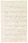 Court notes for the habeas corpus of William C. McCaw
