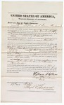 1874 February 19: Recognizance of Witnesses William Stephens and Susan Henderson, in U.S. v. Harry Wilmoh, murder; Floyd C. Babcock, commissioner