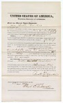 1874 May 8: Recognizance of witness Busten Howkins, in U.S. v. Dock Williams, larceny; Floyd C. Babcock, commissioner