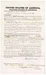 1874 May 15: Bond of witness, Hugh Carrall, in U.S. v. Jack Williams, larceny; C. P. Swift, justice of the peace