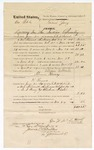 1874 December 14: Voucher, U.S. v. One Able, larceny in the Indian Country; includes cost of feeding prisoners, transportation, guard, and other travel expenses; James O. Churchill, clerk; G.W. McIntosh, U.S. deputy marshal